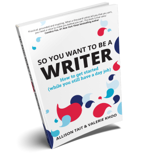 So You Want To Be a Writer book