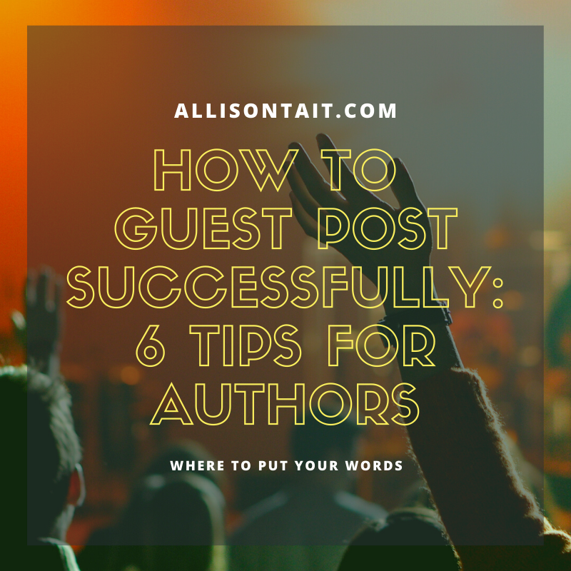 How to guest post successfully