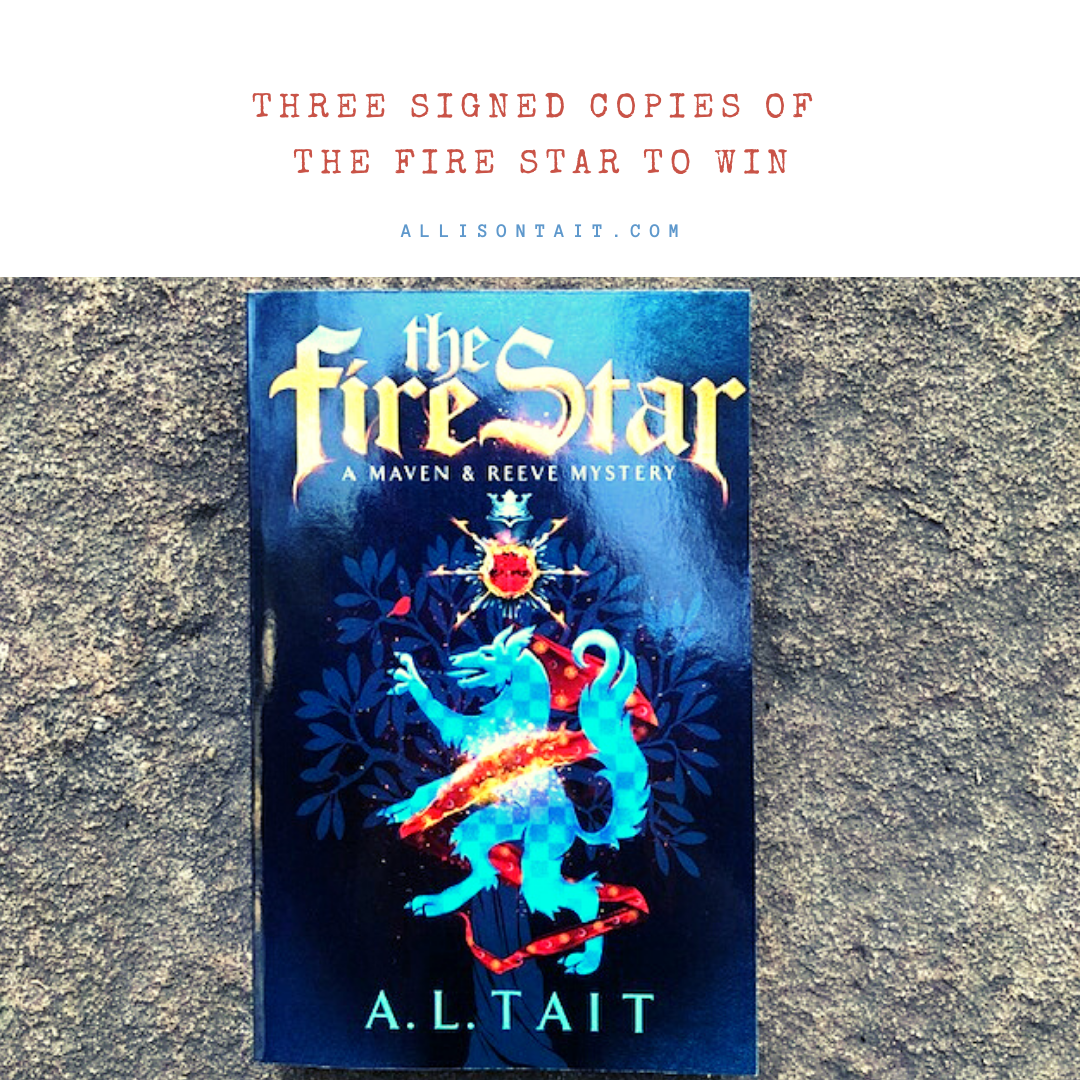 Win a signed copy of The Fire Star by A L Tait