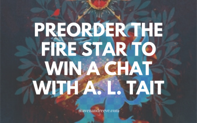 [Closed] Pre-order The Fire Star for your chance to win a Zoom call with A. L. Tait