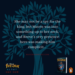 Maven and Reeve quote The Fire Star