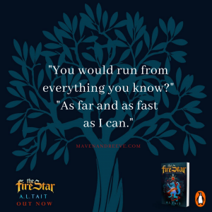 Maven and Reeve quote from The Fire Star