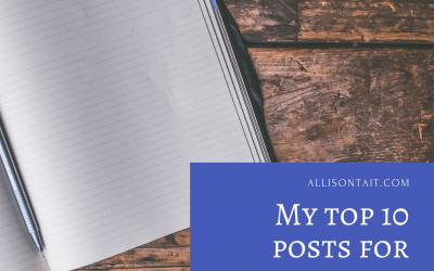 My top posts for writers 2020