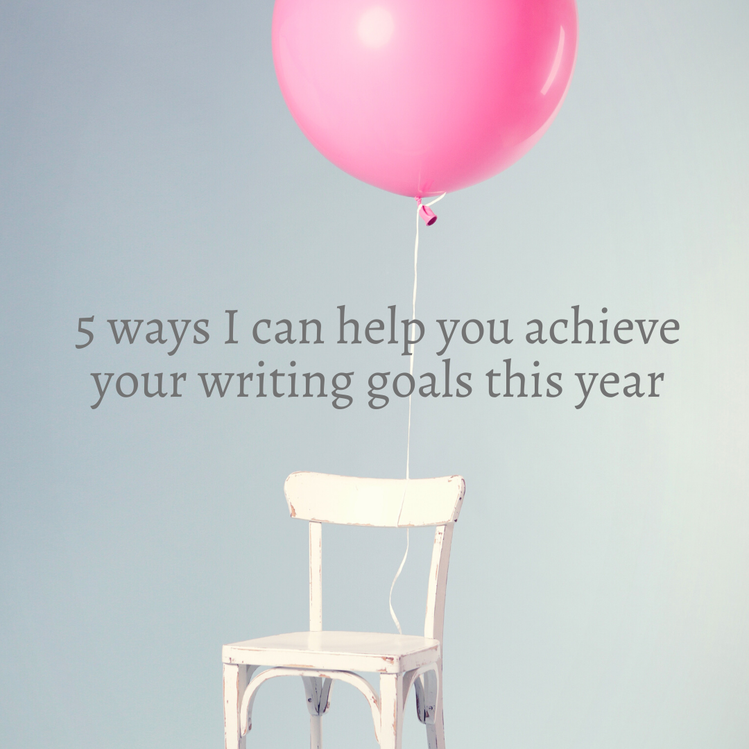 5 ways to achieve your writing goals this year