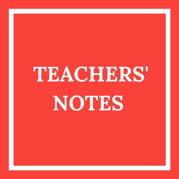 teachers notes tile red