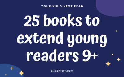 25 books to extend young readers 9+