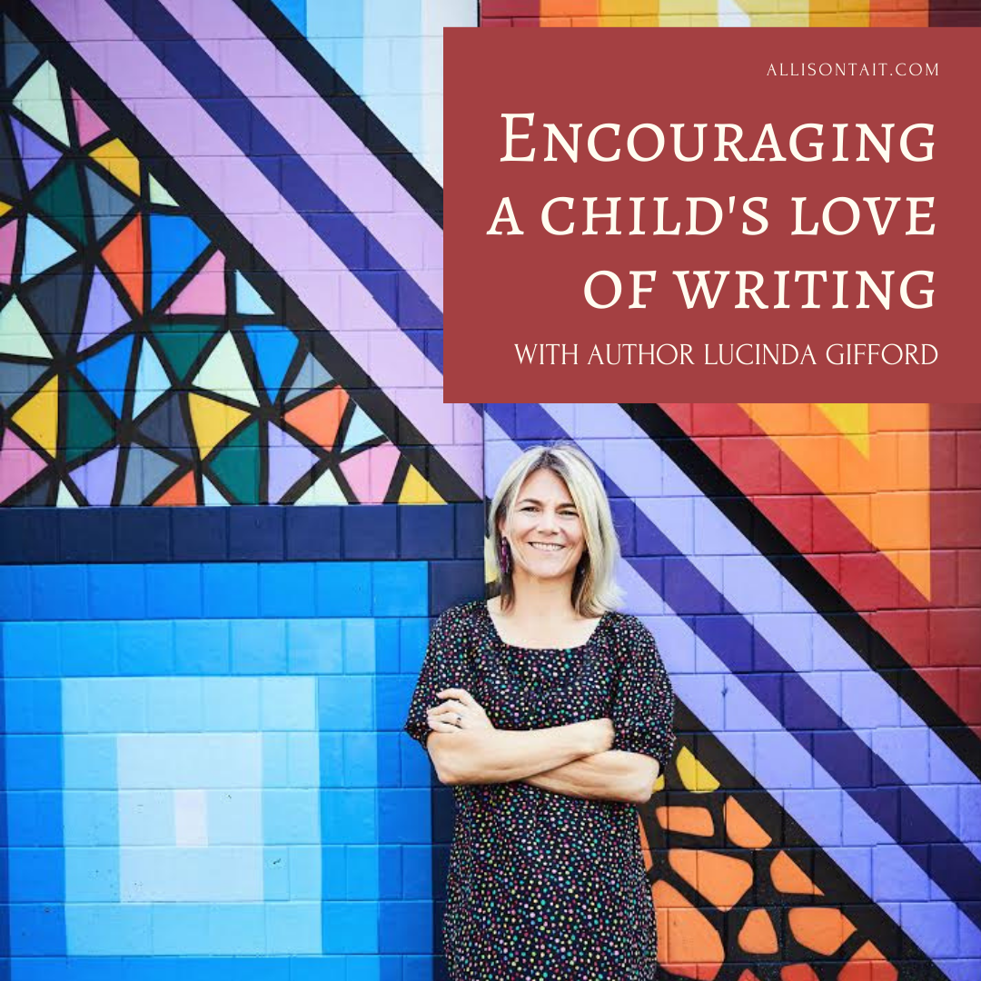 Encouraging kids to love writing