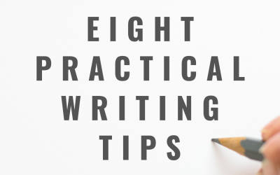 8 practical writing tips to try today