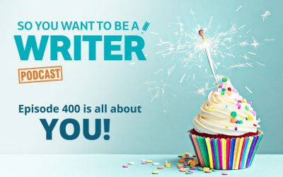 [News] So You Want To Be A Writer podcast hits 400 episodes!