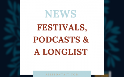 [News] Festivals, podcasts, and a longlist