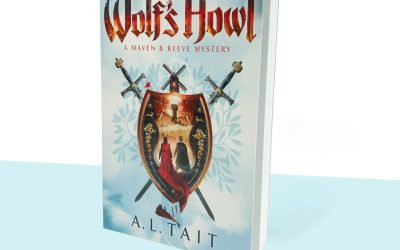 SPECIAL OFFER: signed copy of THE WOLF'S HOWL by A. L. Tait