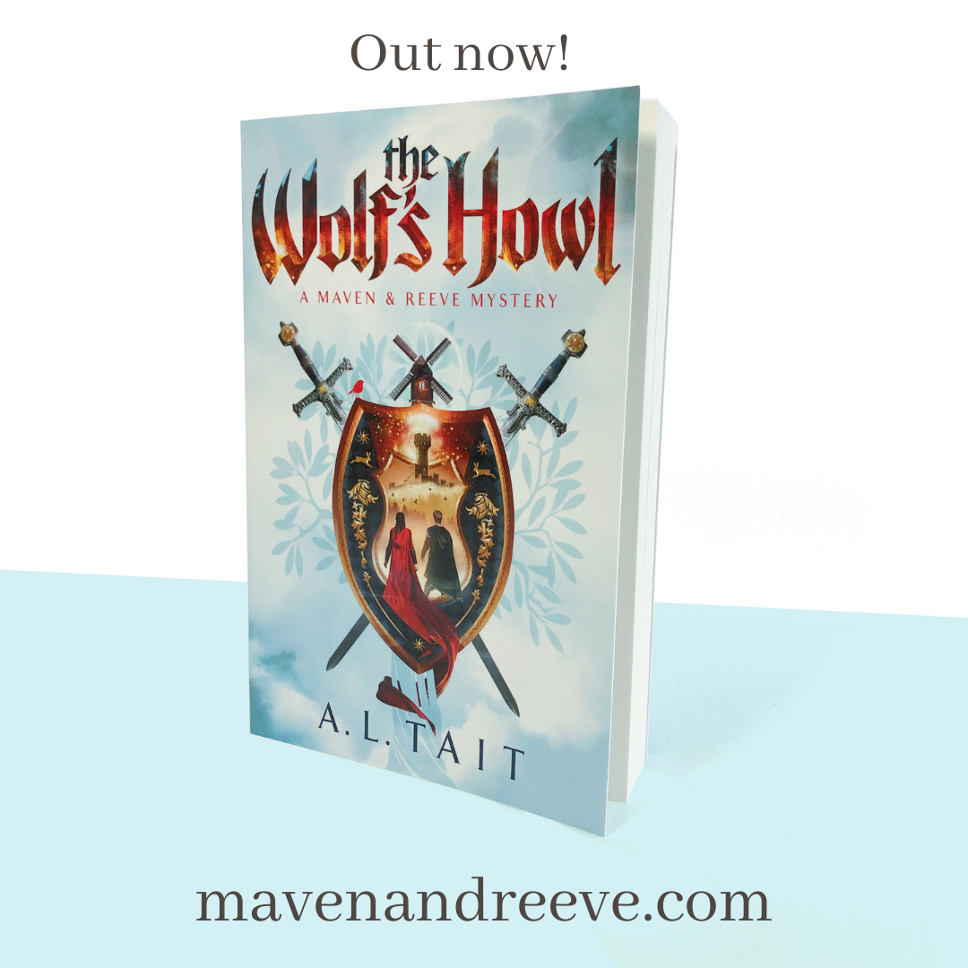 Out Now! The Wolf's Howl (A Maven & Reeve Mystery #2)