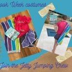 Book Week Jetty Jumping